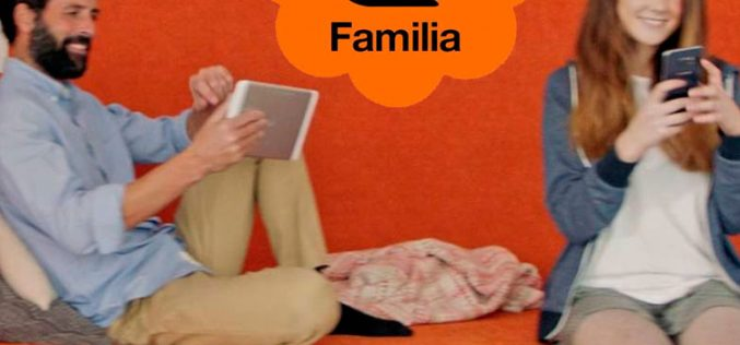 Orange amplía su gama Canguro Familia