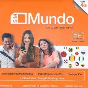 tarjeta prepago Mundo de Orange