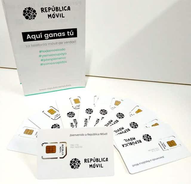 tarjetas SIM de República Móvil