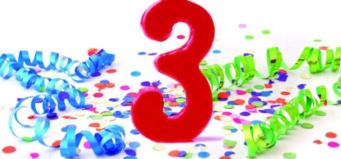 Suop celebra sus tres primeros años