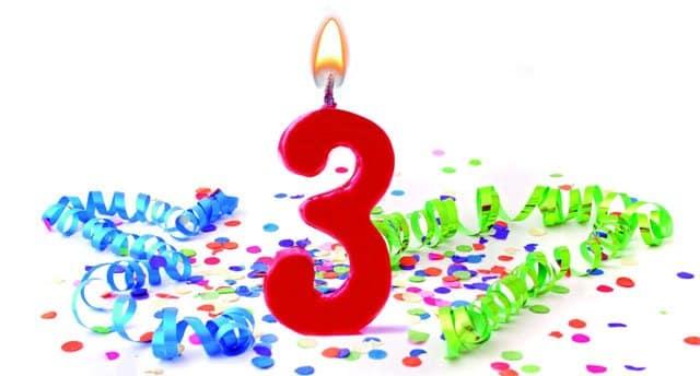 3er. aniversario de Suop