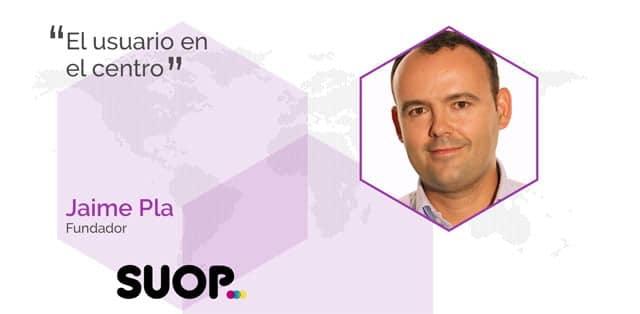 Jaime Pla es el fundador de Suop