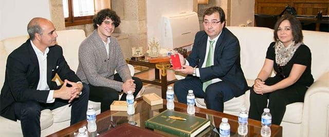 reunión de la Junta de Extremadura con Zetta