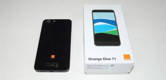 Orange Dive 71