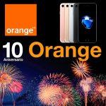 Orange cumple 10 años