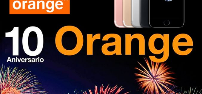 Orange regala 100 iPhone 7 por su décimo aniversario