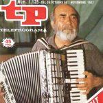 Chanquete tocando el acordeón