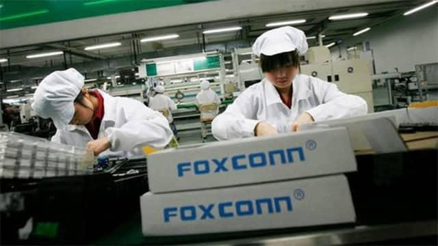 fábrica de Foxconn en China