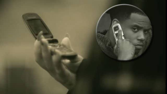 móviles de concha en Hello, de Adele