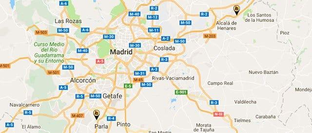 tiendas Electro-Dépôt en Madrid