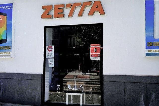 tienda Zetta