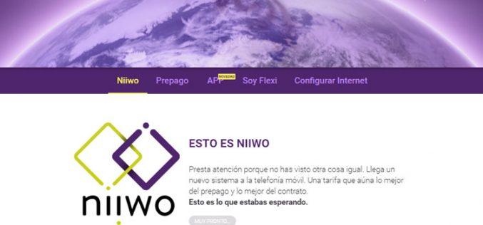Fleximóvil mezcla prepago y contrato con las tarifas Niiwo