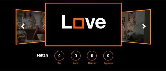 Cuenta atrás de la web Love1denoviembre.com