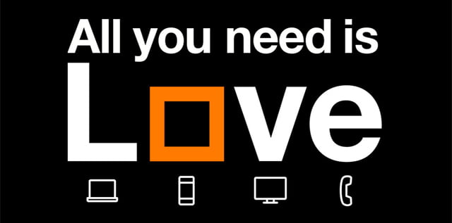Orange Canguro es Love