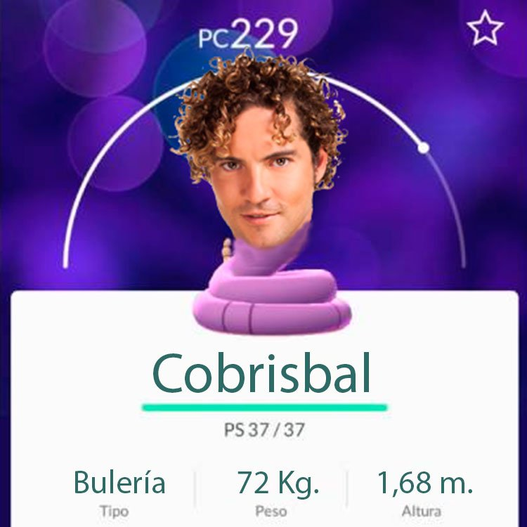Pokémon de David Bisbal