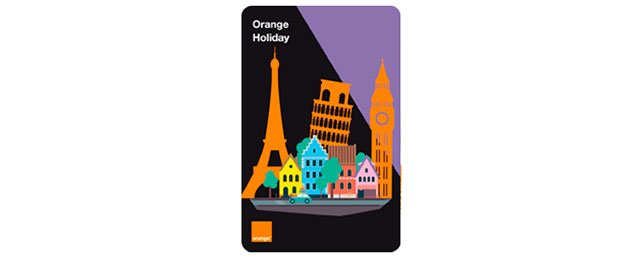tarjeta Orange Holidays