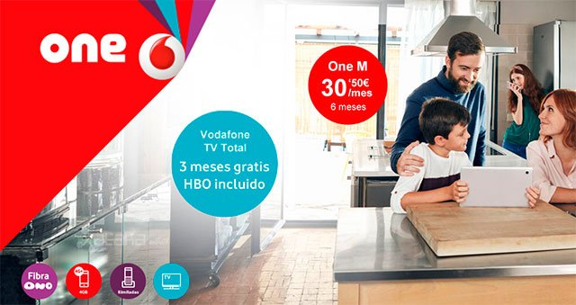 oferta de Navidad de Vodafone One