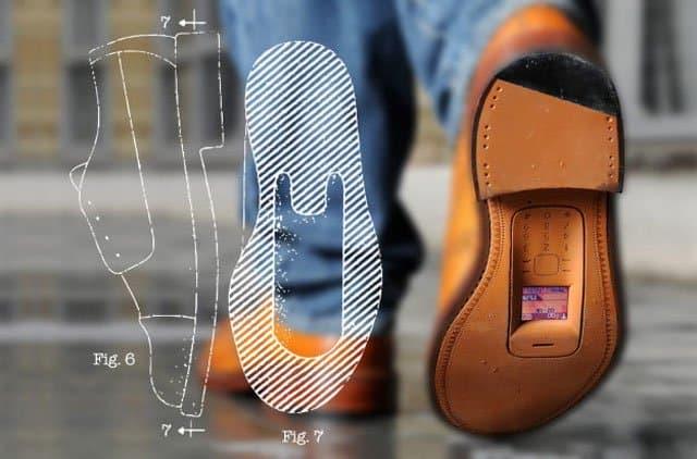 patente funda zapato