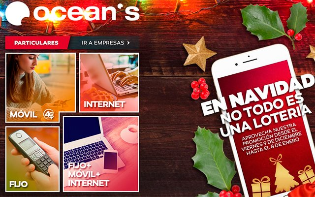 promocion-navidena-oceans