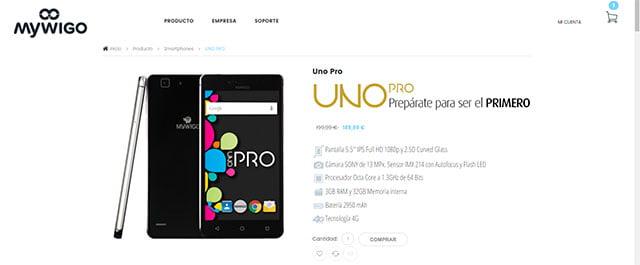MyWigo UNO Pro 32GB