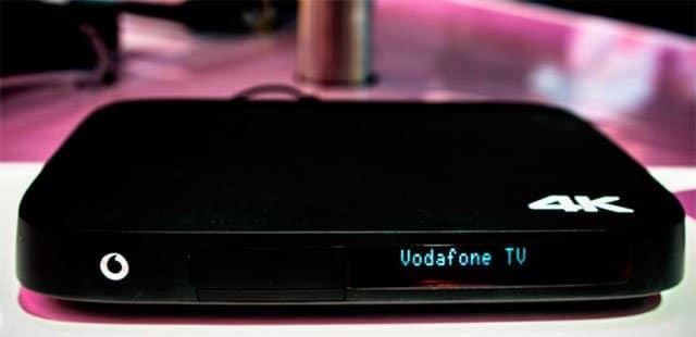 descodificador 4K de Vodafone TV
