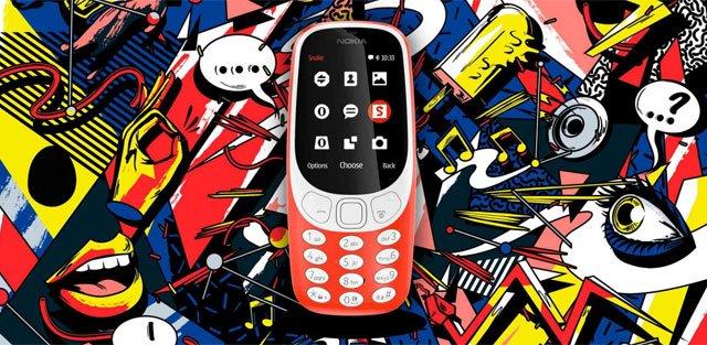 Nokia 3310 de 2017