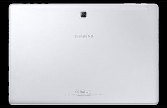 trasera del Samsung Galaxy Book