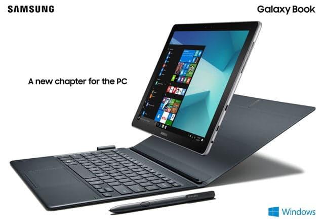 convertible Samsung Galaxy Book