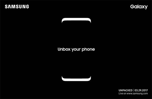 unboxing Samsung Galaxy S8