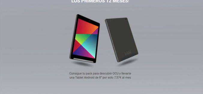 Cómo es el tablet que regala la Ocu