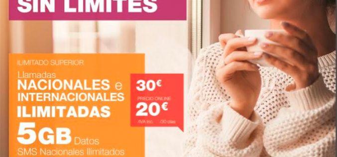 Lycamobile refuerza sus tarifas con llamadas ilimitadas