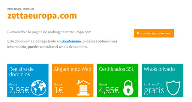 Zettaeuopa.com