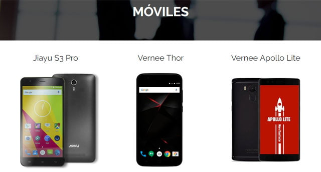 smartphones Jiayu Mobile