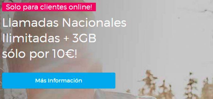 Lebara prorroga su tarifa con 3GB y llamadas ilimitadas por 10 euros
