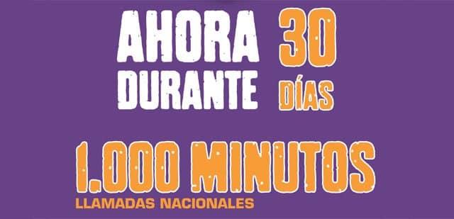oferta 30 días gratis de Llamaya Móvil