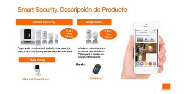 Smart Security de Orange