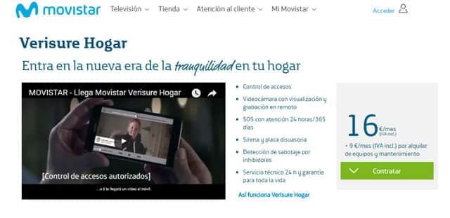 Verisure Hogar, de Movistar