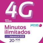 tarifa Jetnet Maverick 5GB