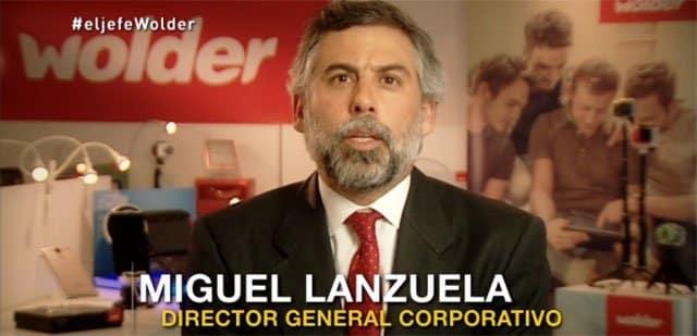 Miguel Lanzuela, director general de Wolder