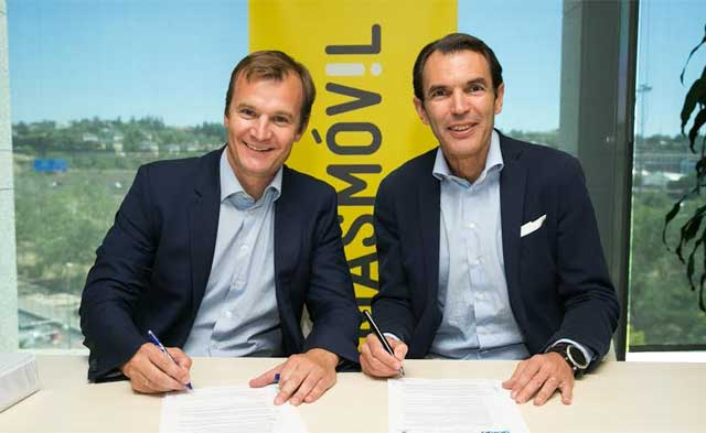 alianza de Ericsson y Masmóvil