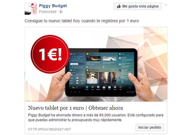 estafa de Piggy Budget