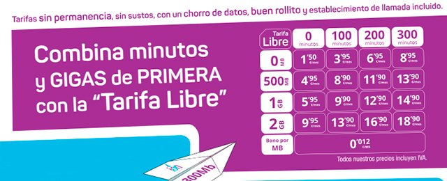 nuevas tarifas Ion Mobile