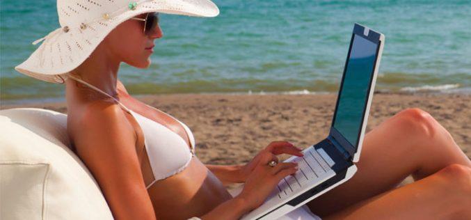 Cómo seguir conectado en verano sin fibra óptica ni ADSL