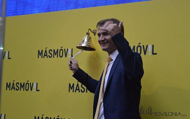 Masmóvil debuta en la Bolsa