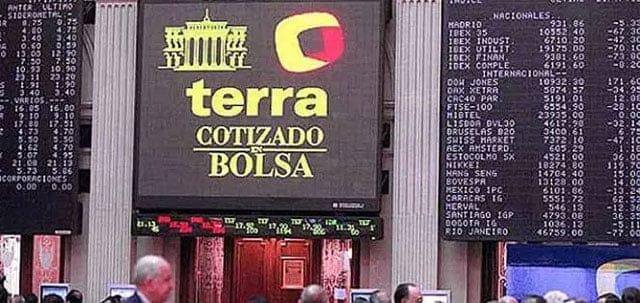 Terra en la Bolsa de Madrid