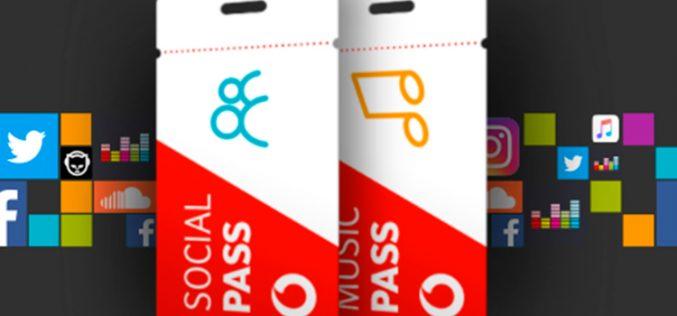Music y Social Pass, los nuevos bonos de Vodafone para optimizar el uso de datos