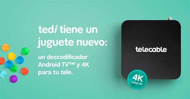 Tedibox, descodificador de Tedi TV