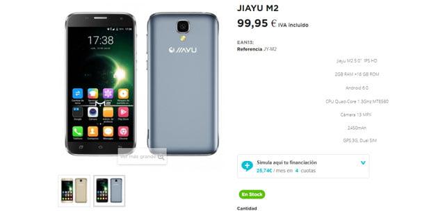 Jiayu M2