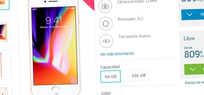 Cuánto cuestan el iPhone 8, 8 Plus y X en el mercado libre y con Movistar, Orange, Vodafone, Yoigo y Simyo