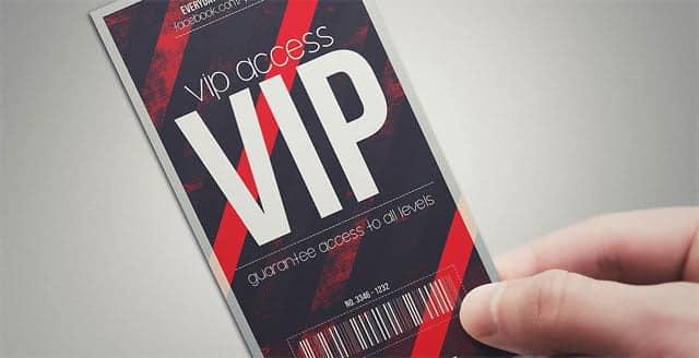 pase VIP